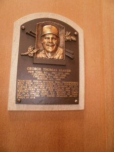 Tom Seaver's plaque.