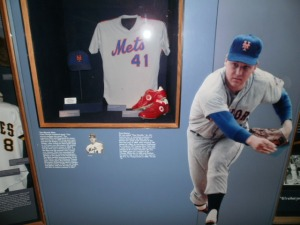 The Tom Seaver display.