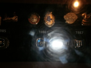 The Mets 1986 World Series ring.