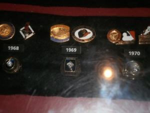 The Mets 1969 World Series ring.