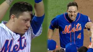 Wilmer Flores, Mets folk hero. Image ©MLB Advanced Media